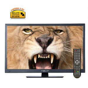 Television 12 voltios dc - 230 Vac y accesorios