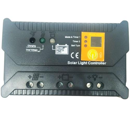 Regulador de carga placa solar PWM 12-24V 20A LED-PRO