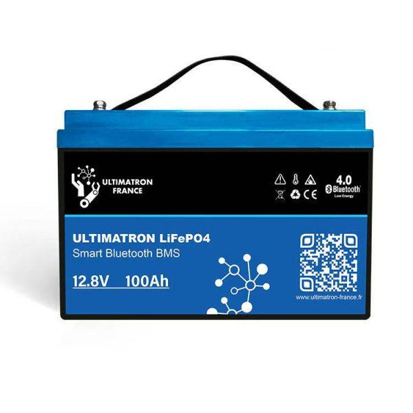 Bateria Litio ( LiFePO4 ) ULTIMATRON YX Smart BMS 12.8V 100Ah
