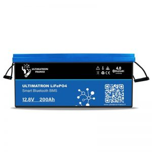 Bateria Litio ( LiFePO4 ) ULTIMATRON YX Smart BMS 12.8V 200Ah